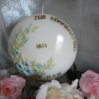 Konfirmation Blumenmodel