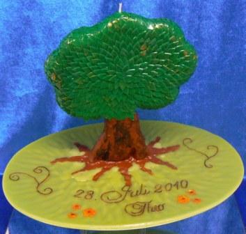 Sonderanfertigung Taufe Baum