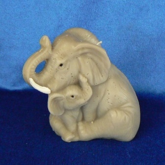 Elefant mit Jungem