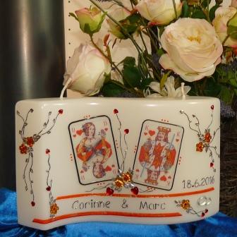 Sonderanfertigung Poker Hochzeit